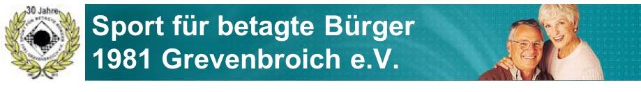 Sport für betagte Bürger 1981 Grevenbroich e.V.